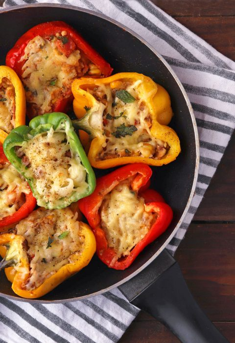 Stuffed capsicum recipe 5
