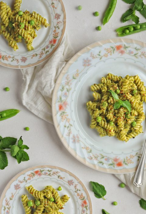 Mint and Peas Pesta Pasta 1