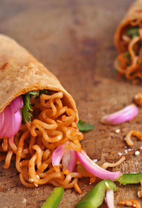 Vegan Noodles Wrap
